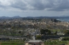 View to Old Corfu and New Fortress from the Land Fort, Old Fortress, Corfu GR