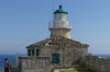 Lighthouse on top of the Land Fort, Old Fortress, Corfu GR