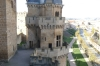 Palacio Nuevo - Three Crowns Tower from the Cistern Tower