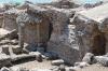 Tharros, Roman ruins - baths, predominately basalt