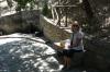 Lunch under an oak tree near Laconi, Sardinia IT
