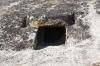 Necropolis near Villa Sant'Antonio, a forgotten archeological site, Sardinia IT