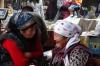Gossiping. Osh Market