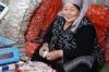 Garlic seller. Osh Market KG