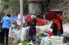 Osh Market in the rain KG