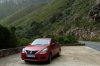 Our red Nissan, Tradouws Pass, near Oudtshoorn, South Africa