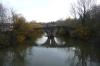 Puenta de la Magdalena (bridge) on Camino trail