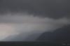 Storm brewing over Lago de Atitlan