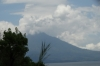 Clouds building up over Lago de Atitlan