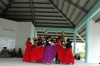 Practising folk dancers on a Saturday afternoon along the Cinta Costera