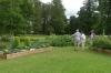 Tourists making sense of the Herb and Vegie patch, Pärnu EE
