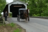 Eschelman's Mill Covered Bridge (aka Paradise Bridge) 1845, 1893, near Lancaster PA