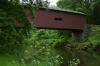 Kurtz's Mill Covered Bridge (aka Isaac Bean's Mill Bridge) 1875, moved from Conestoga River to Lancaster County Central Park after Hurricane Agnes, PA