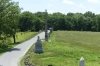 Some of the many memorials (more than 400) at Gettysburg PA