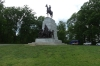 Gen Robert E Lee mounted on Traveller, Virginia Memorial on Seminary Ridge, Gettysburg PA
