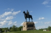 Major General George Meade statue at the High Water Mark, Gettysburg PA