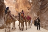 Petra - locals with donkeys and camels