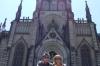 Bruce & Thea at the Catedral São Pedro de Alcântara, Petropolis BR
