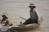 Travelling down the Tonle Sap river from Siem Reap to Phnom Penh