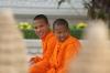 Monks at the Royal Palace