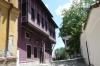 Revival style houses in the ancient city of Plovdiv