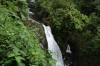 Three waterfalls. La Paz Waterfall Gardens