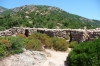 Araghju site, a fortification 37 centuries old, Corsica FR