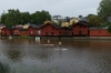 Warehouses on the river, Porvoo FI