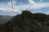 Bruce passes me. Zip ride at Barrancas del Corbre