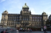 National Museum at the end of Wenceslas Square. Prague CZ