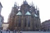 St Vitus gothic cathedral in the Palace grounds. Prague CZ