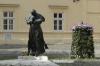 Statue to Pope John Paul II, Presov SK
