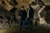 Bruce and our guide in the Marble Cave in Gadime XK