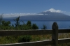 Osorno Volcano over Lake Llanquihue from Mirador de Ensenada CL