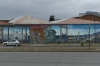 Graffiti on the waterfront in Punta Arenas CL
