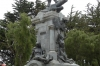 Monument to Hernando de Magallanes (1480-1521) in Plaza de Armas de Punta Arenas CL