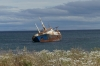 Shipwrecked on the Straits of Magellan near Punta Arenas CL