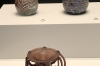 Ancient artefacts in the Finding Syria exhibition, Museum of Islamic Art, Doha QA