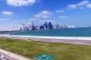 View of downtown Doha QA