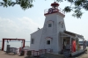 Lighthouse on the St Lawrence River, Trois-Rivieres, QE