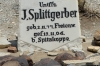 Grave of J Splittgerber, killed in altercation with native in 1904,
