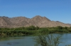 Orange River, southern border of Namibia and South Africa