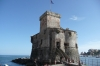 The old fort in Rapallo IT