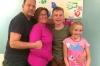 Jason, Mandy, Bradley & Charlotte Allen at Hitchin UK