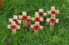 Remembering the soldiers, St Mary's Church, Hitchin UK
