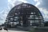 The dome of the Deutscher Bundestag, Berlin DE