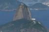 View to Sugar Loaf from Corcovado, Rio de Janeiro BR