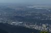 View to Estádio do Maracanã (football stadium) from Corcovado, Rio de Janeiro BR