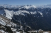 The mittens. View from the lookout, Rochers-de-Naye CH