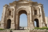 Ancient Roman City of Jerash - Hadrian's Gate
